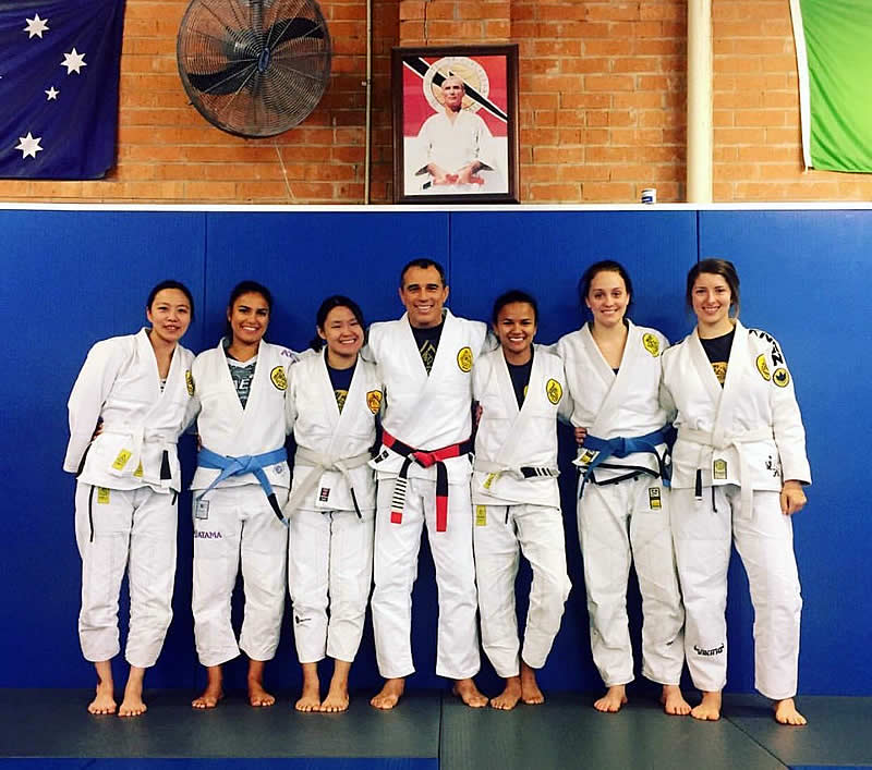 gracie jiu jitsu women