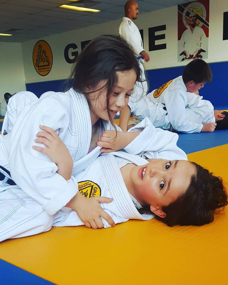 gracie miranda kids self defence bullyproof